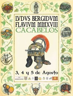 RECREACIÓN LVDVS BERGIDVM FLAVIVM EN CACABELOS Peanuts Comics, Poster, History