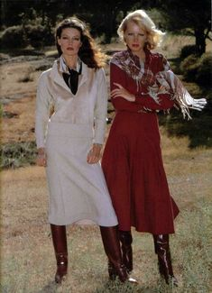 L'Officiel magazine, 1978 60s And 70s Fashion, Seventies Fashion, Retro Fashion, Love Fashion, Autumn Fashion, Vintage Fashion, Womens Fashion, Fashion Design, Vintage Outfits