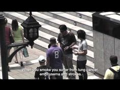 An innovative anti-smoking ad from Thailand http://bit.ly/KQLVki