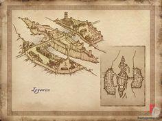 Leyawiin - The Elder Scrolls IV: Oblivion concept art