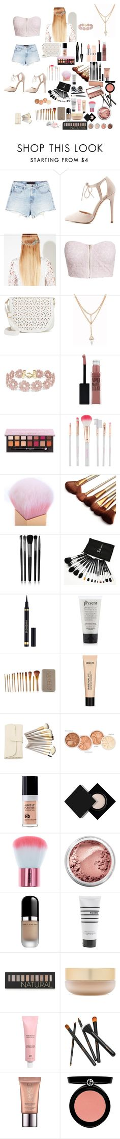 """""""Love City """" by fashion-dora15 ❤ liked on Polyvore featuring Alexander Wang, Charlotte Russe, John Lewis, NLY Trend, Under One Sky, BaubleBar, Maybelline, Lancôme, Anastasia Beverly Hills and Accessorize"""