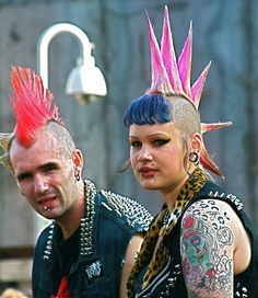 punks by www.AlastairHumphreys.com, via Flickr