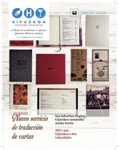 Ya tenéis disponible la revista de @HostGipuzkoa Primer trimestre de 2016 Disfrutarla y compartirla.