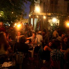 Bacchanal Wine - an incredible find in New Orleans. Pick out your bottle of wine and your favorite chunk of cheese. They'll give you two glasses and put a cheese plate together while you enjoy great jazz on an eclectic, beautiful patio. This place is an experience.