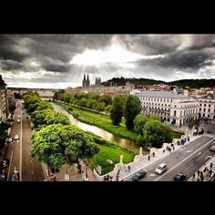 Burgos: The home of El Cid, Spain's national hero. It's cathedral is one of the finest in Europe and contains the tomb of El Cid Costa, Places In Spain, Iberian Peninsula, 2nd City, Las Vegas Hotels, Small Island, Archipelago, Morocco, Places Ive Been