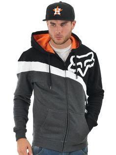 Fox Black Riktor Zip Hoody | Fox | FreestyleXtreme