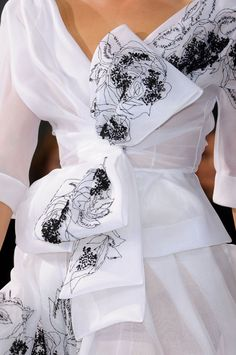 Christian Dior Haute Couture S/S 2012, detail