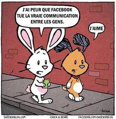 Les réseaux sociaux et la communication. #facebook #like #communication