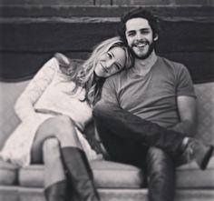 Thomas (Rhett) Akins & his wife Lauren