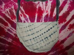Medium Tie Dye Denim Bag. $30.00  http://www.etsy.com/shop/EleCtricAmethyst?ref=seller_info