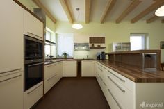 Kuchyň v RD Kitchen Cabinets, Design, Home Decor, Decoration Home, Room Decor, Cabinets, Home Interior Design, Dressers