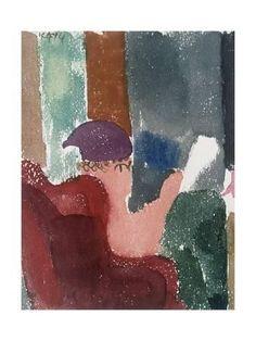 Violet Cap, 1914 Gicléedruk Paul Klee