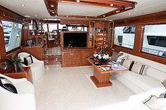 Classic boat interiors