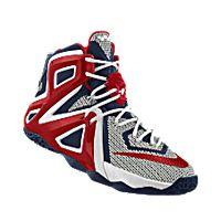 I designed the red, dark blue and white South Alabama Jaguars Nike men's basketball shoe.