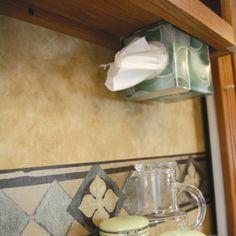 Tissue BoxTissues Holder Toilet TrayWall Tissue Paper Holderthe Shelf In The Bathroom B