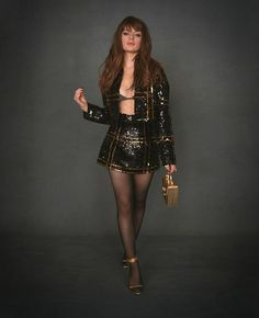 Fast Fashion, Trendy Fashion, Womens Fashion, Black Bralette, Cami Crop Top, Celebrity Outfits, Nice Tops, Skirt Set, Celebs