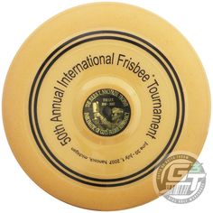 Wham-O Limited Edition 50th Anniversary 15 Mold 110g Guts Frisbee Disc - Gold