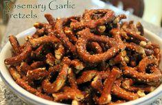 Rosemary Garlic Pretzels