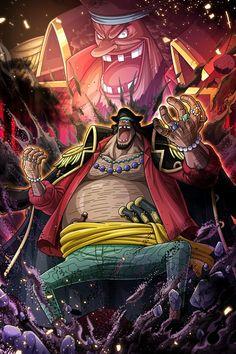 Marshall D Teach One Piece Photos, One Piece Ace, One Piece Luffy, Manga Anime One Piece, Anime Manga, Anime Art, Blackbeard One Piece, One Piece Deviantart, Opt Art