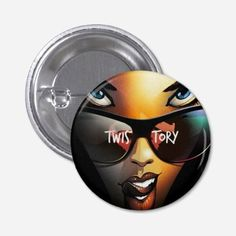 Twistory Girl pin