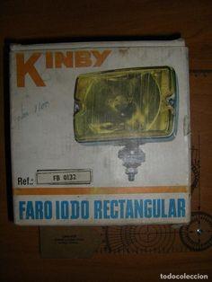 FARO RECTANGULAR KINBY. FAESSA (Coches y Motocicletas - Repuestos y Piezas (antiguos y clásicos))
