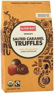 The Salted Caramel Chocolate Truffles are an addictive treat with smooth dark chocolate shells surrounding creamy centers of coconut oil, milk, cacao, caramel, and fleur de sel de Guérande. Kids Nutrition, Nutrition Activities, Nutrition Guide, Dark Chocolate Truffles, Organic Dark Chocolate, Salted Caramel Chocolate, Fair Trade Chocolate