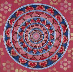 Love Mandala Chakra of Hearts