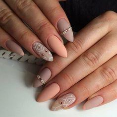 Cute Fashion Nail Designs for Spring - Nail Art Designs Nail Art Designs, Nail Designs Spring, Nails Design, Cute Spring Nails, Spring Nail Art, Nail Summer, Summer Diy, Matte Nail Art, Acrylic Nail Art