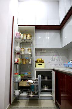 Gautami enclave modern kitchen by meticular interiors llp modern Kitchen Cupboard Designs, Kitchen Room Design, Modern Kitchen Design, Home Decor Kitchen, Interior Design Kitchen, Moduler Kitchen, Kitchen Vastu, Kitchen Racks, Kitchen Remodelling