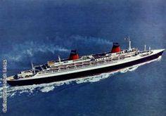 "Compagnie Generale Transatlantique ~The French Line ""The France"""