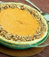 Eggless No Bake Pumpkin Pie (make without the crust?)