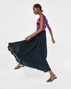ROBE EN CROCHET ÉDITION LIMITÉE-READY FOR A BREAK-WOMAN-STORIES | ZARA France