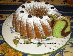 #Ciambella alla #menta e #cioccolato!! Un sofficissimo dolce bigusto!!!