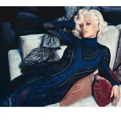 RitaOraForCavalli Finally it's OUT! Madonna Mia!! ❤️❤️❤️ I love you @robertcavalli @eva_cavalli This collaboration is a huge Honour. #Padgram