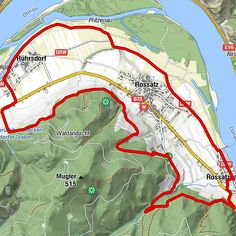 Austria, Seen, Travelling, Map, Country, Vacation Travel, Bike Rides, Rural Area, Location Map