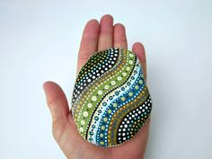Painted Wyoming Stone // Hand-Painted Original от prayerfeather