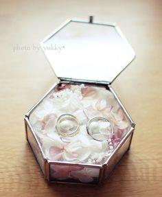 手作りリングピロー(m.soeur風)|\ daydream* /☆手作りHome&Wedding☆