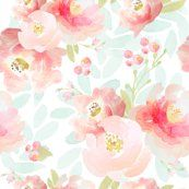 Plush_pink_florals_shop_thumb Floral wallpaper