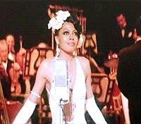 Diana Ross as Billie Holliday in Lady Sings The Blues. Lady Sings The Blues, Movie Scene, Diana Ross, Motown, My Favorite Music, Beauty Queens, Good Music, Ms, Singing