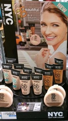 Spotted: NEW NYC New York Color Smooth Skin BB Crème Instant Matte Skin Perfector, Bronzed Radiance & BB Radiance Smooth Skin Perfecting Powder