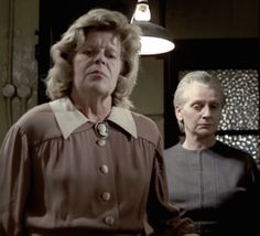 Barbara Markham and Sheila Keith ~ House of Whipcord