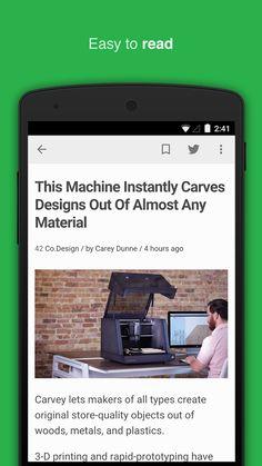 feedly: your work newsfeed- screenshot
