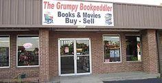 The Grumpy Bookpeddler used bookstore Murfreesboro TN Buy And Sell, Outdoor Decor, Book, Home Decor, Decoration Home, Room Decor, Book Illustrations, Home Interior Design, Books