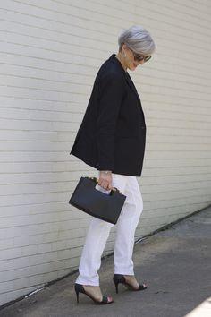 white denim | styleatacertainage