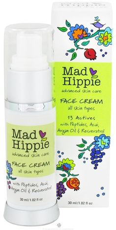 Mad Hippie Face Cream with Anti-Wrinkle Peptide, 1.02 OZ of 2 pack >>> This is an Amazon Affiliate link. You can get more details by clicking on the image.