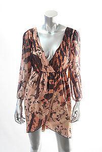 ALICE & OLIVIA CONRY BELL SLEEVE DRESS Size Medium  Retail: $396  PlushAttire.Com Price: $139.90  65% OFF RETAIL!  #fashiondeals
