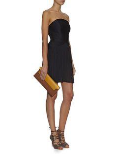Alisa silk-tulle strapless mini dress | Maria Lucia Hohan | MATCHESFASHION.COM