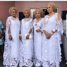 Whether this is a bubu asoebi or a co-wives association shenanigans, it's gorgeo. - Whether this is a bubu asoebi or a co-wives association shenanigans, it's gorgeo. African Maxi Dresses, African Fashion Ankara, Latest African Fashion Dresses, African Print Fashion, African Wedding Attire, African Attire, Lace Gown Styles, African Lace Styles, Traditional Wedding Attire