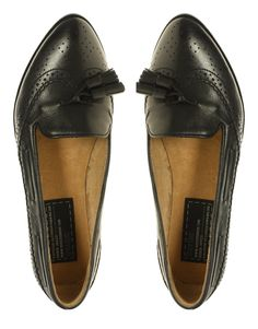 Ginger Tassle Almond Toe Loafer by Bertie