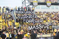 Kirk Urso will be missed. Columbus Crew, Soccer, The Originals, Passion, Fun, Futbol, European Football, European Soccer, Football